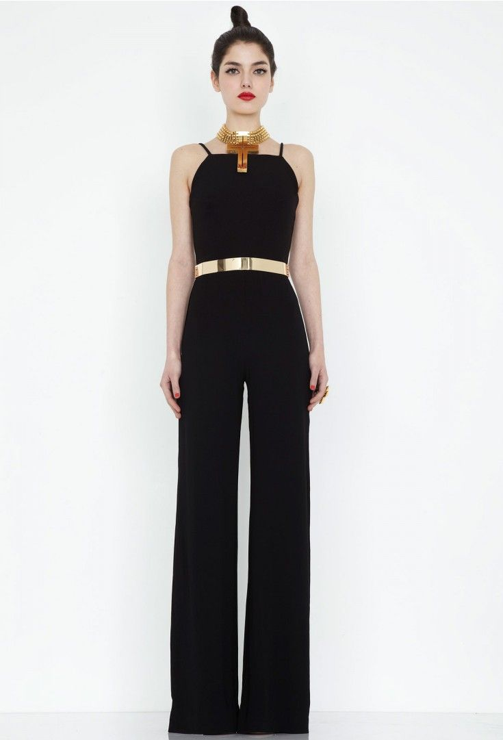 17 Best ideas about Black Wide Leg Jumpsuit on Pinterest ...