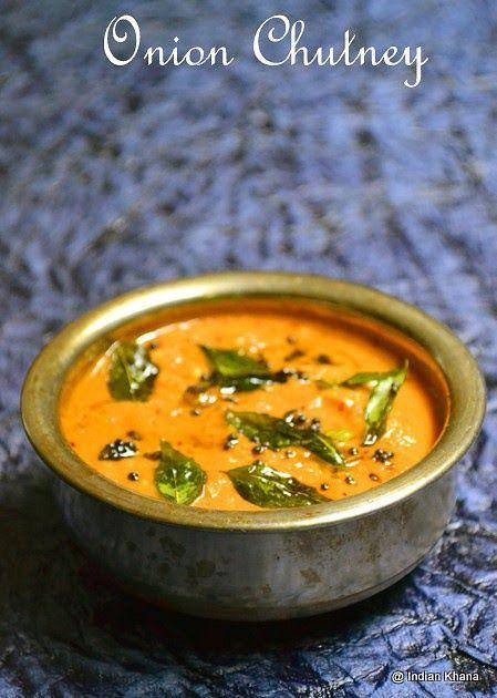 Chutney, Easy Chutney Recipe, Onion, Onion Chutney Recipe, sidedish for dosa, Sidedish for Idli, sidedish for tiffin items,
