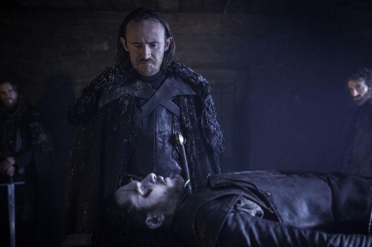 Jon Snow & Edd - The Red Woman Season 6 Episode 1