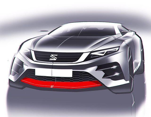 WEBSTA @ cardesignworld - SEAT sketch by Vasiliy Markin @vasiliymarkin_sketch #cardesign #carsketch #car #design #sketch #seat #cardesigner #vehicledesign #transportdesign