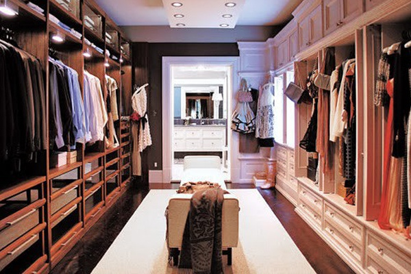 her walkin closet 1
