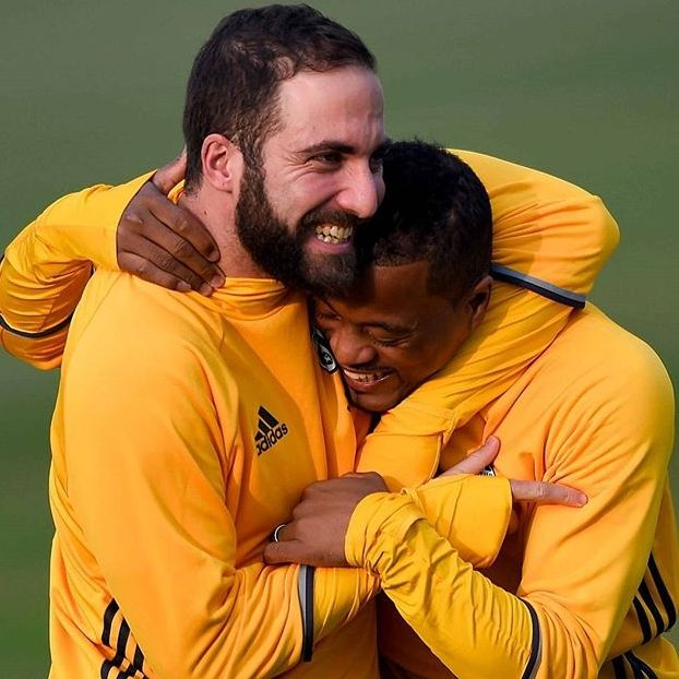 Ritrovarsi dopo la sosta delle nazionali, Gonzalo #Higuain e Patrice #Evrà