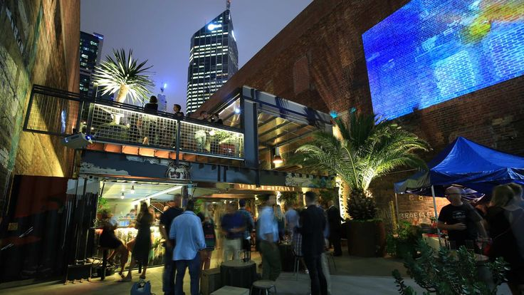 whitehart - A dingy CBD sidestreet now houses craft beer, cocktails and art installations.