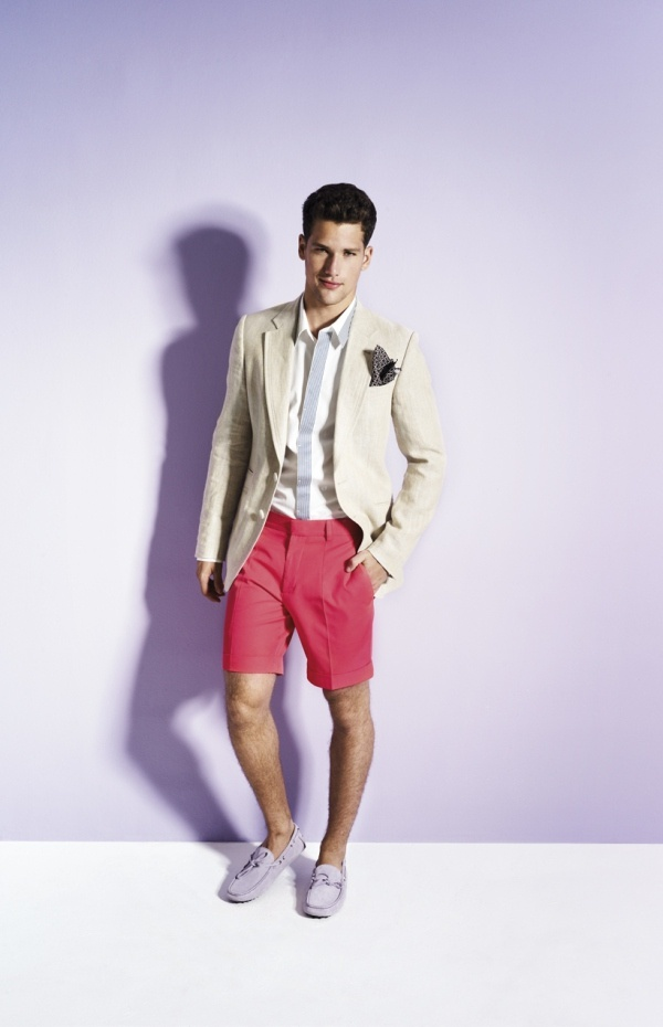 Grooms men outfit for nautical themed beach wedding a for Mens dress attire for wedding