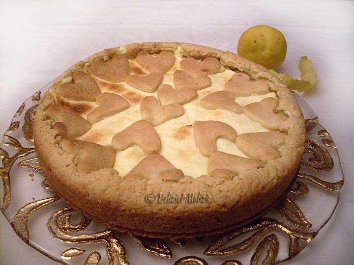 Crostata soffice al limone
