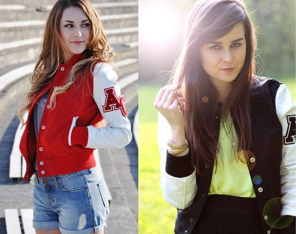 Jaquetas universitárias!