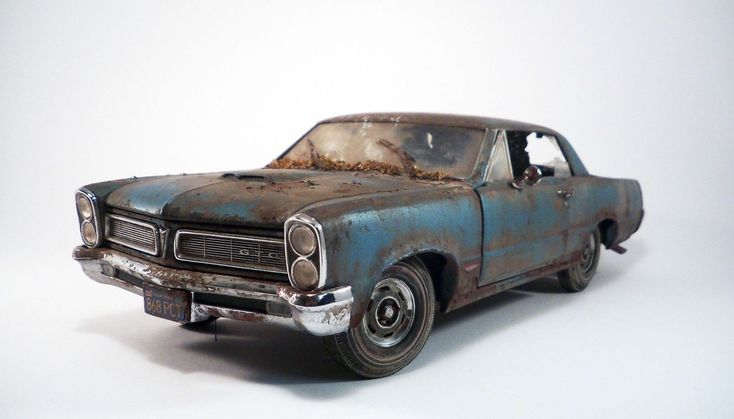 1965 Pontiac GTO Original Barn Find Custom Weathered Unrestored SunStar 1/18 | eBay