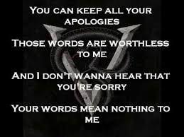 Worthless - Bullet For My Valentine (lyrics)