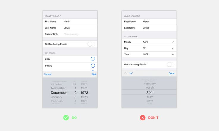 How to help users be successful with the forms you are designing
