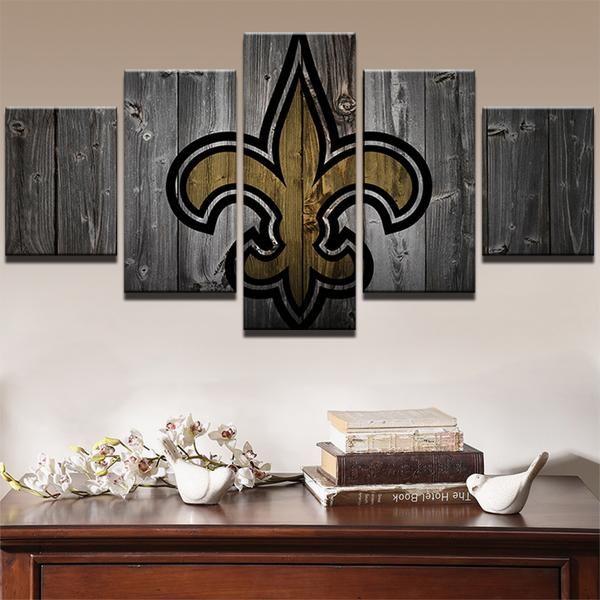 New Orleans Saints American Football Football Canvas Customized Canvas Art Modern Wall Art Canvas