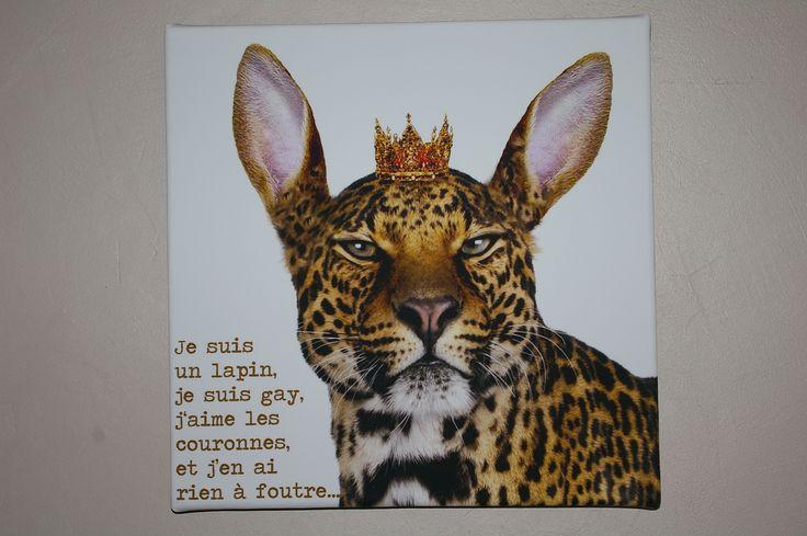 Petite oeuvre d'art achetée à Brussel. J'adore !! Site web le l'artiste : www.dotspot.be