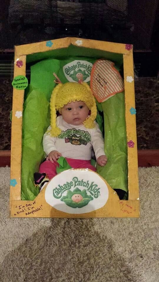cabbage patch kid cabbage patch babiescute halloween costumeshalloween - Cabbage Patch Halloween Costume For Baby