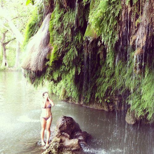 Krause Springs in Austin, Texas