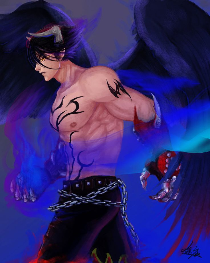 devil jin by haruka4413.deviantart.com on @deviantART