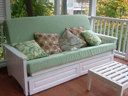 Outdoor Futon Porchbeds Mattress Referrals