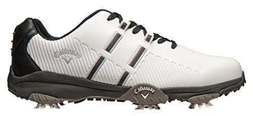 Oferta: 95€. Comprar Ofertas de Callaway Chev Mulligan - Zapatos de golf para hombre, color blanco, talla 43 (M) barato. ¡Mira las ofertas!