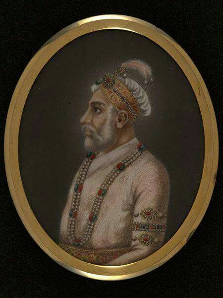 Prince Muazzam (Later Bahadur Shah I 1707-1712) son of Aurangzeb