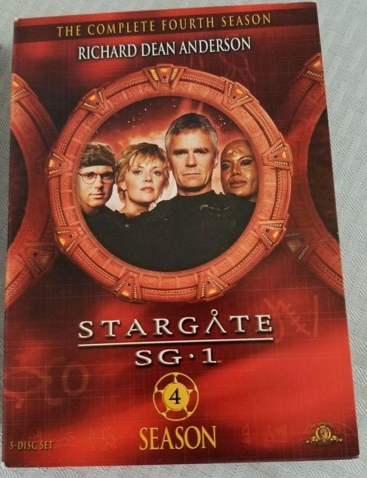 Stargate SG-1 - Season 4 Giftset (DVD, 2009, 5-Disc Set #StargateSG1