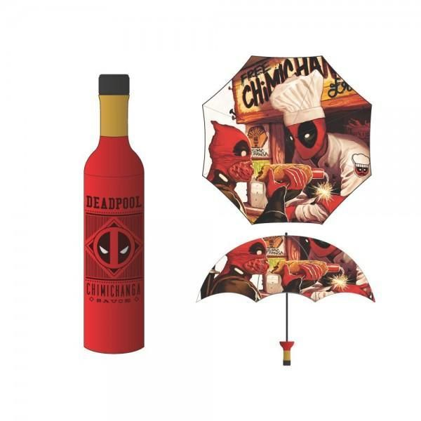 Deadpool Chimichanga Bottle Umbrella
