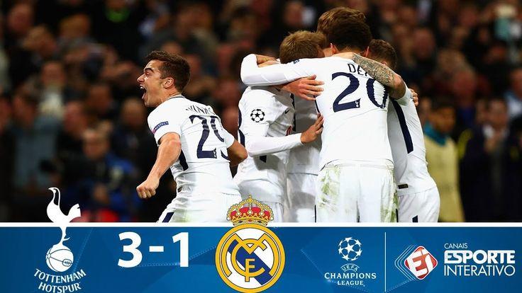 Melhores Momentos - Tottenham 3x1 Real Madrid - Champions League (01/11/...
