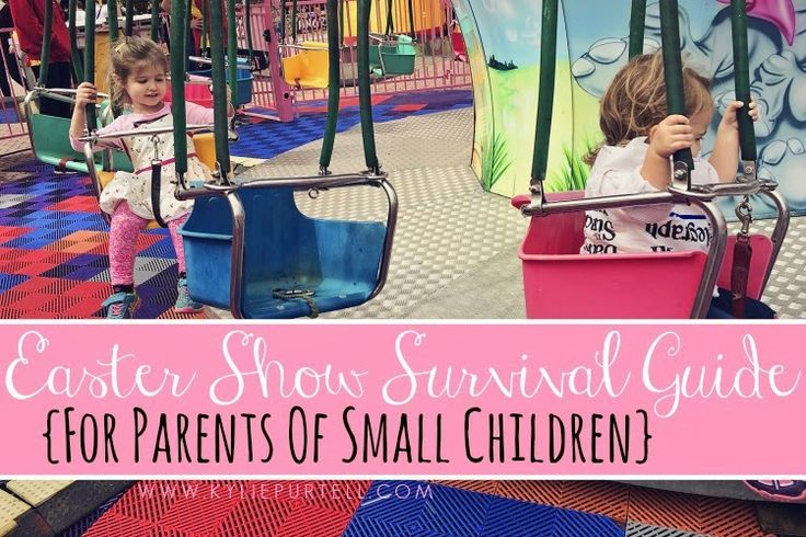 These top 5 tips are relevant for any kind of show you plan on attending with your kids, not just the Easter Show... Easter Show Survival Guide {For parents of small children}   Kid-Friendly Sydney