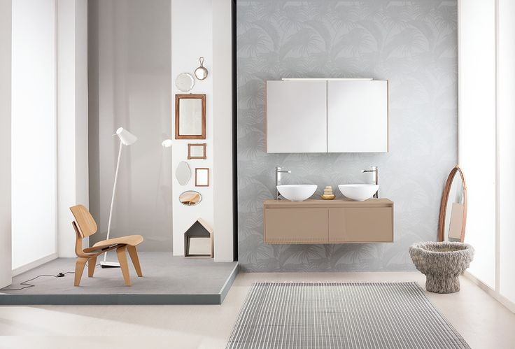 A contemporary mood for your #bathroom: Summit 2.0 11 by Mastella #interiors #interiordesign #furniture #bath #bathroom #bathdesign  1