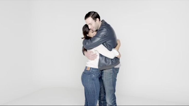 Who Knew Watching People Hug for 4 Minutes Could Make You Bawl?