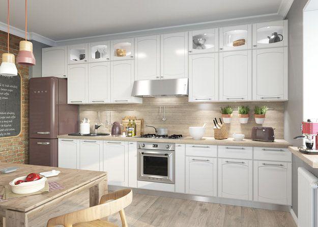 Как правильно обустроить линейную кухню: 3 идеи планировки + советы профи…