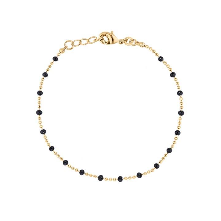 collier perle et or