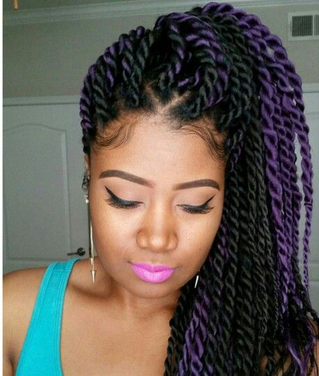 Twist Braids Hairstyles 552 Best Twistlocks & Braid Hairstyles Images On Pinterest