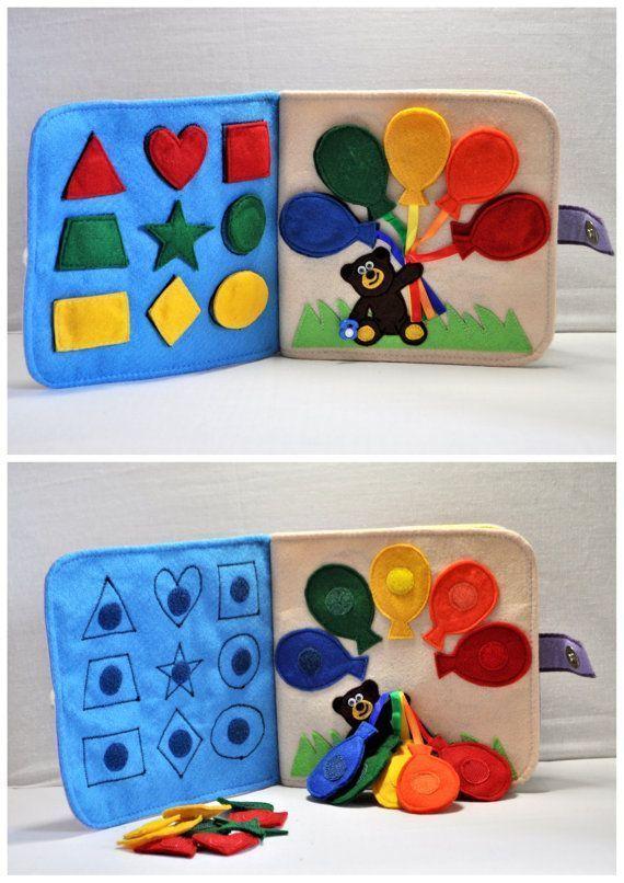 Livro Tranquilo / Livro Tranquilo para Crianças / Livro Ocupado por WeriBeauties   – Kinderspielzeug diy