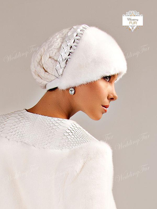 Меховая шапка. Р-ры 57-58