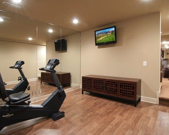 Home Gym Exercise Room Design, Pictures, Remodel, Decor And Ideas   Page 9