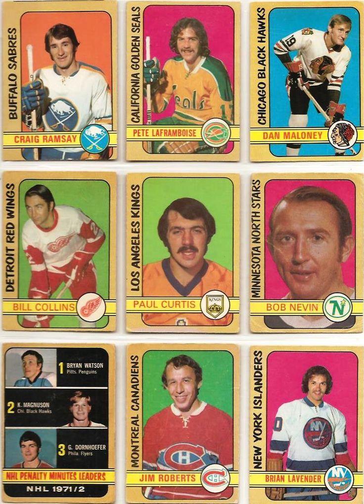 262-270 Craig Ramsay, Pete Laframboise, Dan Maloney, Bill Collins, Paul Curtis, Bob Nevin, Penalty Minute Leaders, Jim Roberts, Brian Lavender