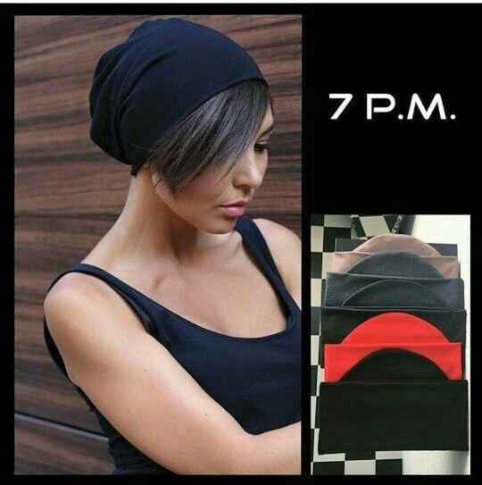 Шапка #7pm 250 грн., • итальянский трикотаж •цвета: черный, серый, красный