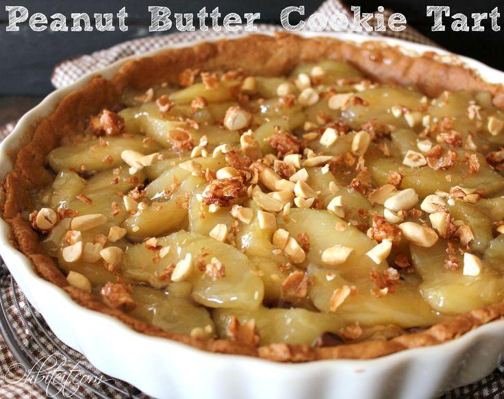 Tart! 1 roll of Pillsbury Peanut Butter Cookie Dough 1 can Apple Pie ...