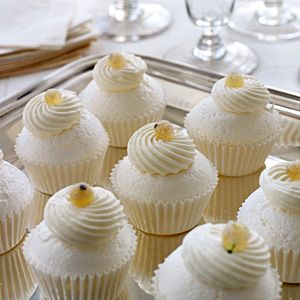 Mini Pavlovas - Crisp on the outside and soft in the center, these meringue-like mini desserts are a hit.