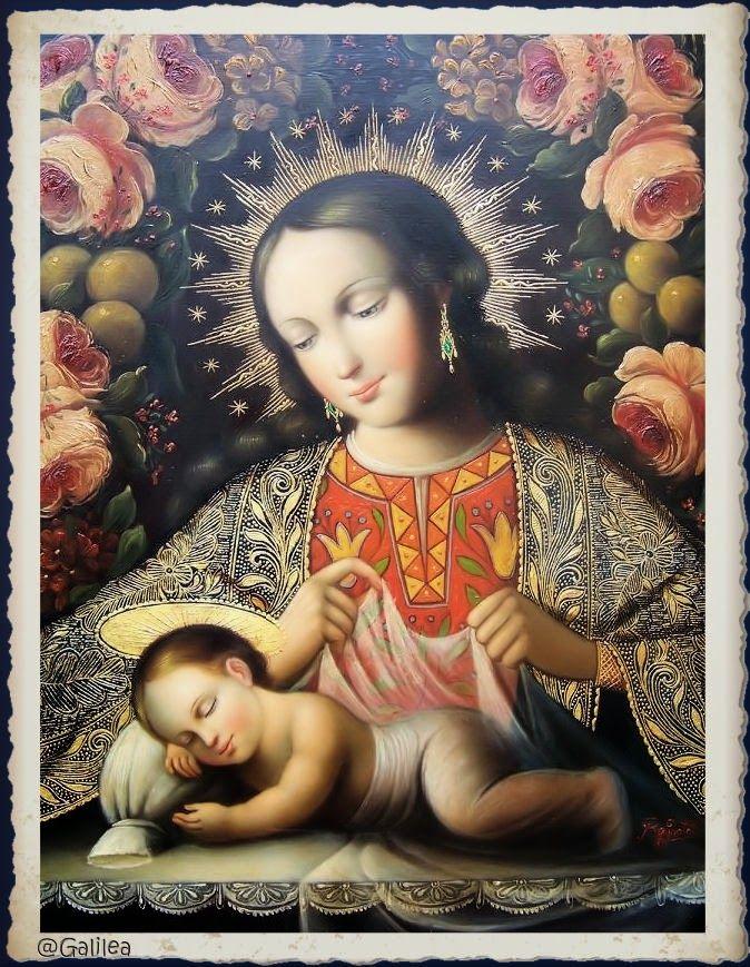 Santa María, Madre de Dios y Madre nuestra: ¡Salve, Esposa Virgen!