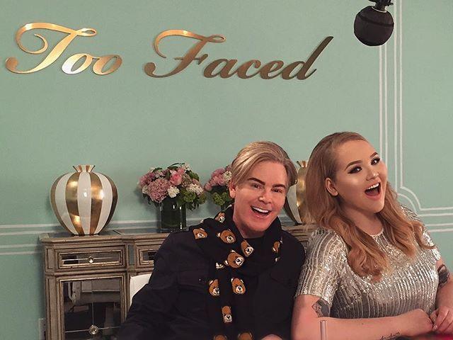 Pin for Later: Nikkie Tutorials and Too Faced Are Partnering Up to Create Some Pretty Epic Sh*t