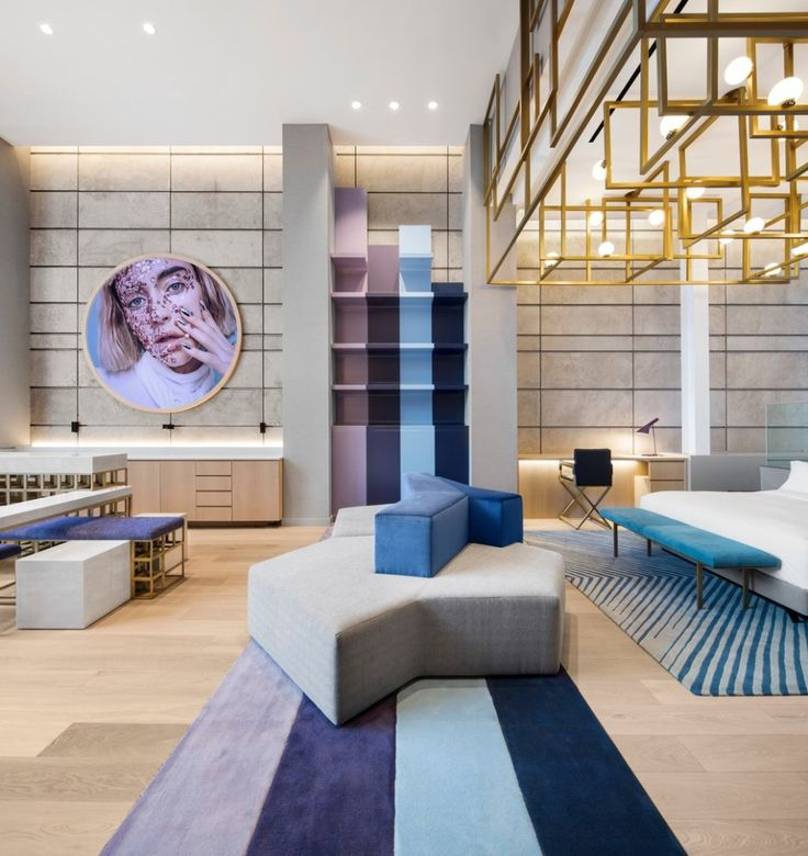 Interior Design Office Montreal: W Montreal Lanza Las Nuevas Extreme WOW Suites In 2020