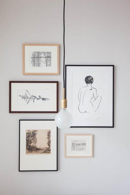 Art arrangement / frames