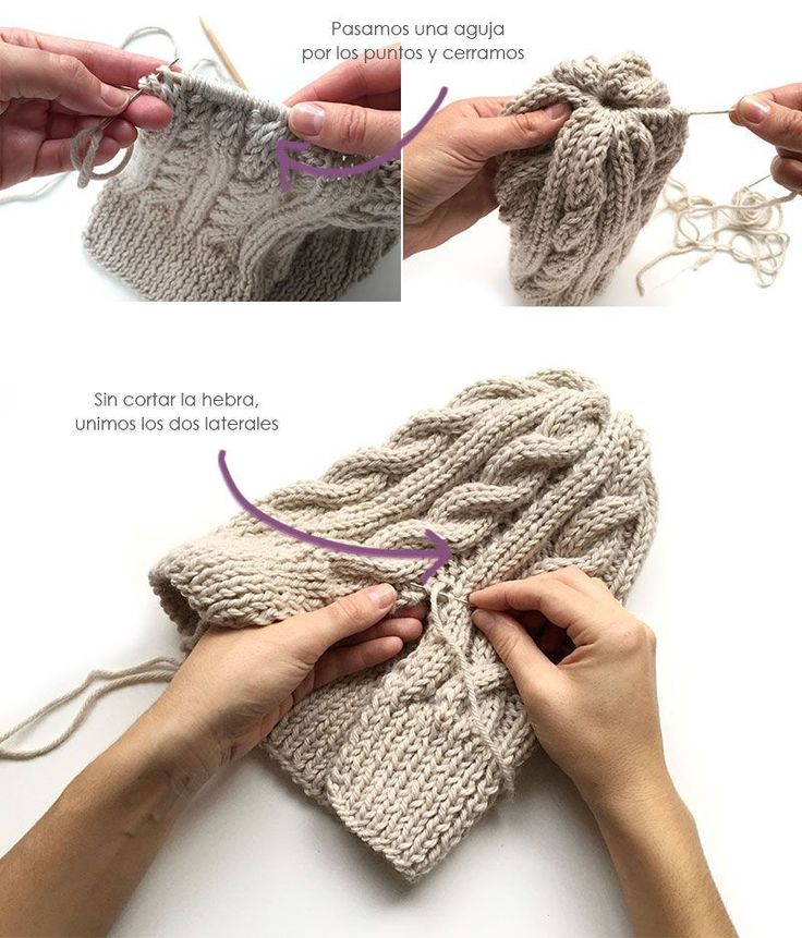116 best gorros images on Pinterest | Knit hats, Knitted beanies and ...