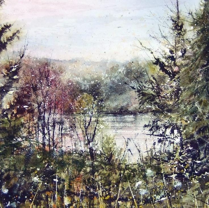 Deborah Walker, watercolor