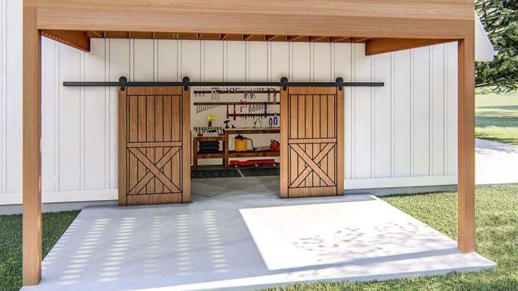 twostory 1bedroom modern barnlike garage apartment