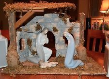 Lladro Nativity Set with Stable