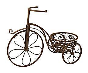 M s de 1000 im genes sobre adornos de metal en pinterest sillas de hierro forjado estantes de - Bicicleta macetero ...