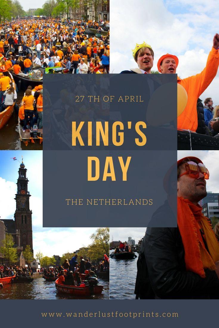 King's Day in Amsterdam, crazy orange Dutch Holiday!! – wanderlustfootprints