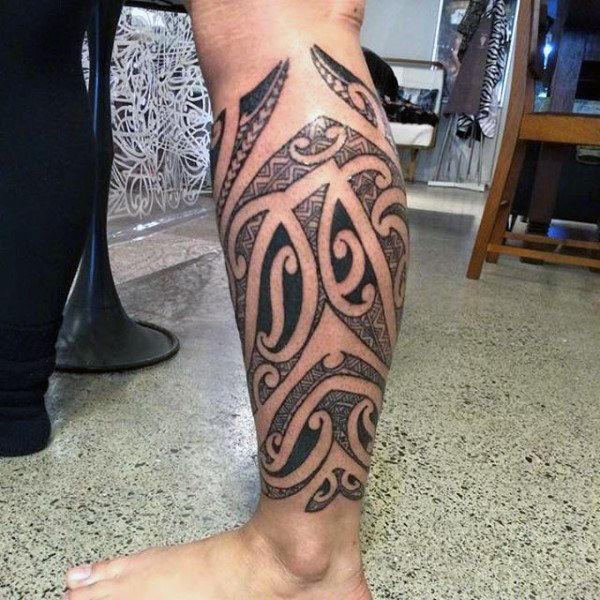 13 Best Calf Tattoo Designs For Men Images On Pinterest