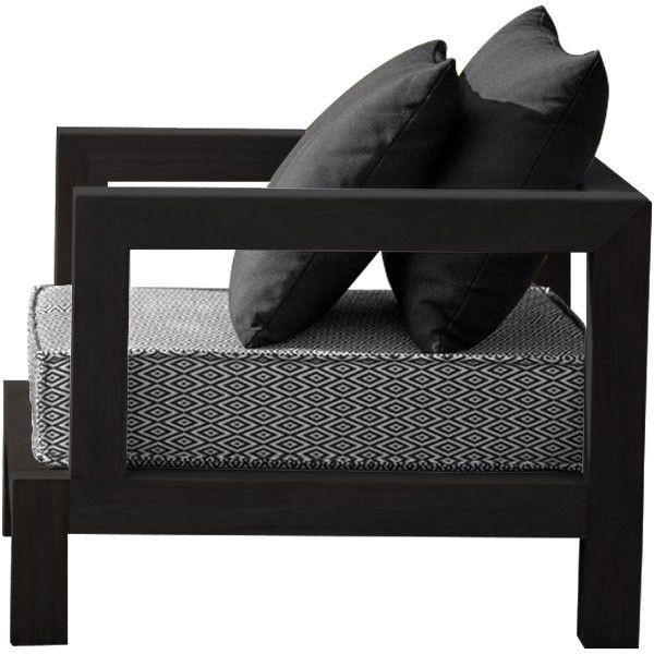 xvl portofino 2 garden chair black sling liked on polyvore featuring garden chairspatio