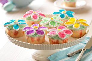 Petits gâteaux fine fleur